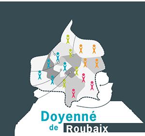 carte des paroisses de Roubaix